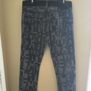 True Religion Dean Tapered Super T Jeans Size 32